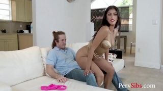 Slutty Stripper Sister Saves Her Ass By Getting It Fucked- Sophia Leone