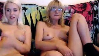 Nice female striptease and masturbation