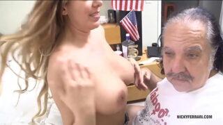 Nicky Ferrari Sex with my friend Ron Jeremy.